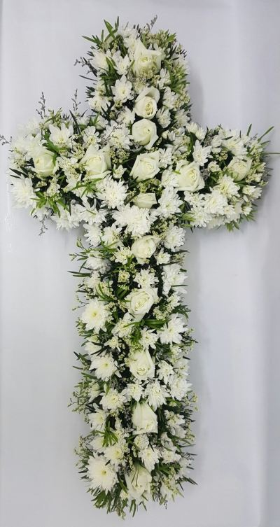 Cross Funeral Arrangement (FA-145)
