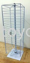 Accessories Stand wBearing-Hexagon Offer Bin and Wire Works