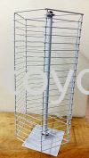 Accessories Stand wBearing- Square Offer Bin and Wire Works