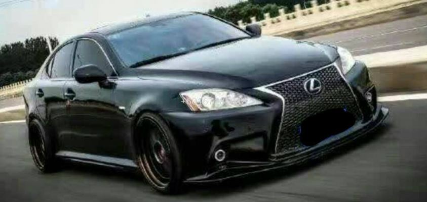2010 lexus is250 bumper f sport pp new