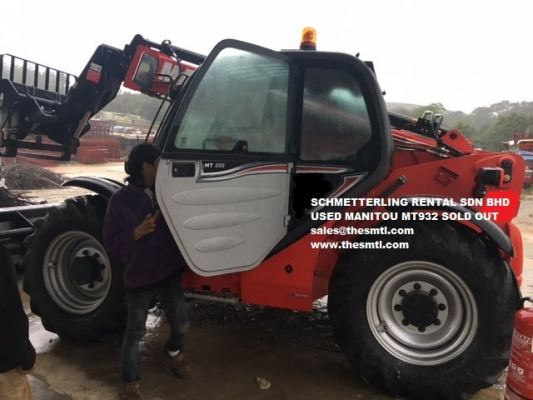 SCHMETTERLING TELEHANDLER SOLD OUT