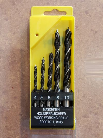 Wood Drill Bit -5pc/set ID779507 ID30763