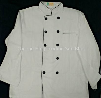 Chef White Uniform Long Sleeve