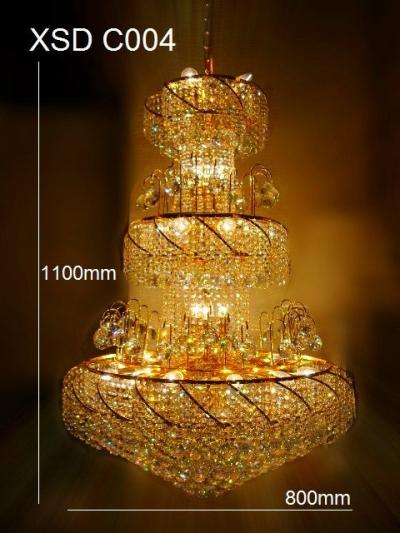 ET XSDC004 Crystal Pendant Light