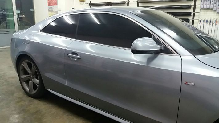 3) Audi A5 Car Tinted ASWF Charcoal 15