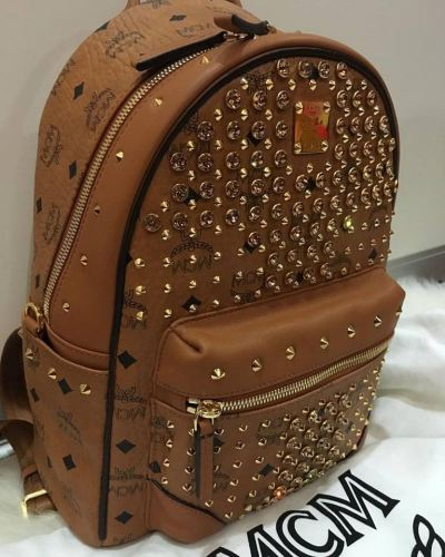 (SOLD) MCM Swarovski Backpack Small Size