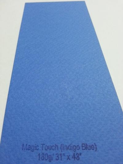 """Magic Touch Indigo Blue 180g 31""""x43"""""""