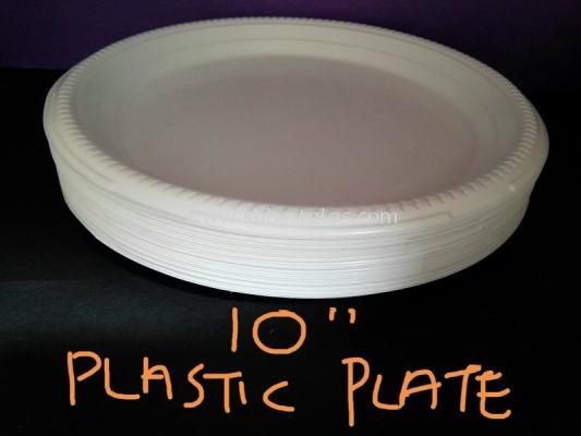10'' Plastic Plate