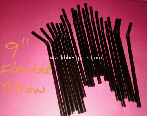 9'' Flexible Straws