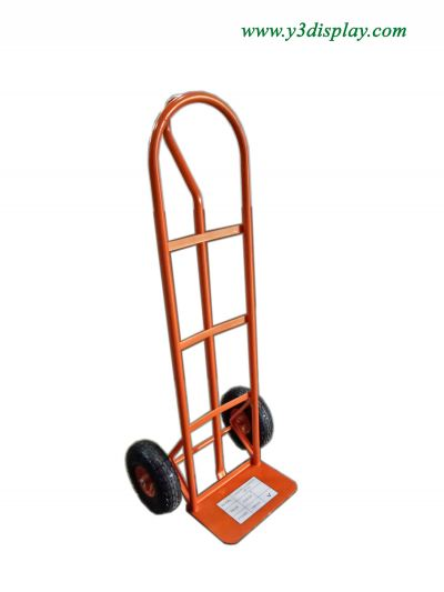"29715-M03-P700B P SHAPE HAND TRUCK 10"" PNEUMATIC WHEEL"