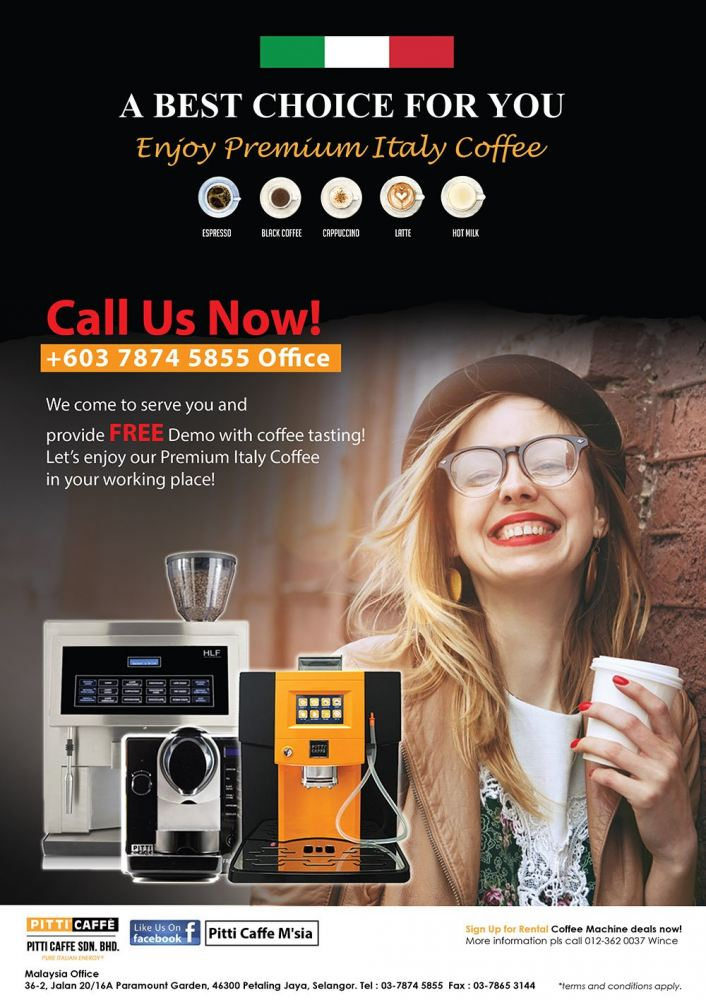 Beans to Cup or Capsule Coffee Machine ? PITTI CAFFE A Best Choice for You!