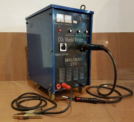 NBC-270 MIG/MAG CO2 SHIELD WELDER 410V ID992059