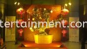 CNY Deco (Gold Bonzai Tree)  Custom Made Fabrication