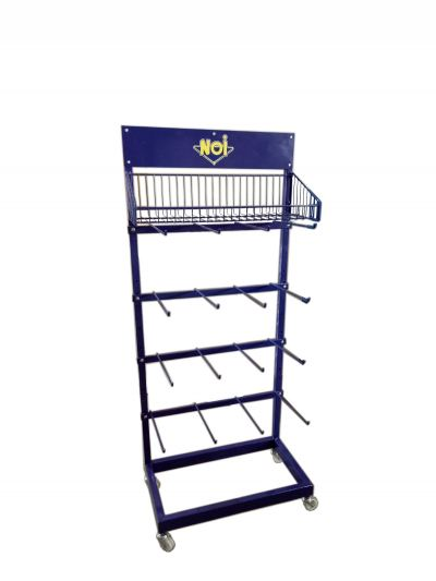 20388-NOI 5LAYER METAL DISPLAY RACK