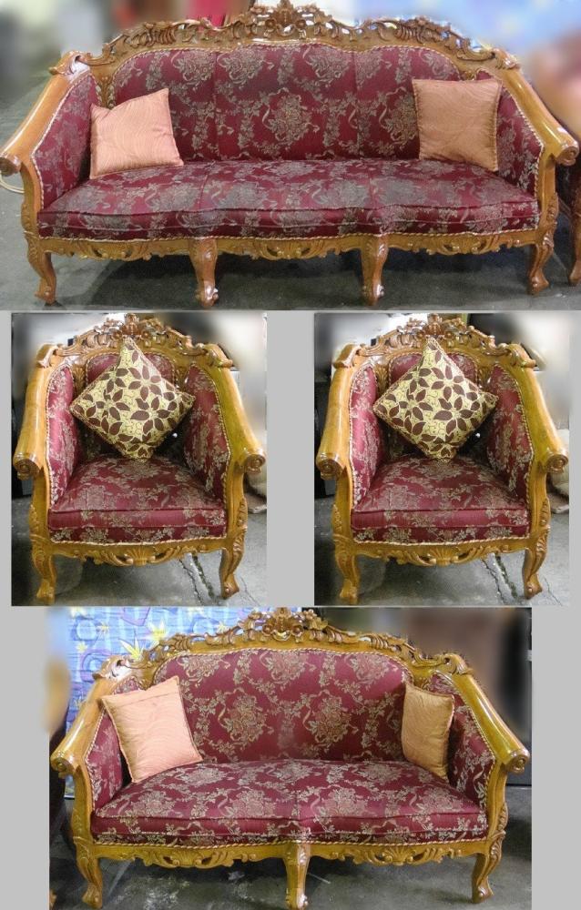 Sofa Set 3+2+1+1 !!