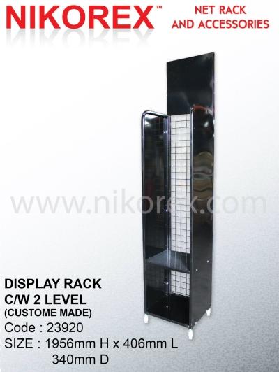 23920 - DISPLAY RACK C/W 2 LEVEL
