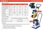 Fuji FC80 Plate Compactor  Compactor / Roller / Vibrator Contruction Equipment