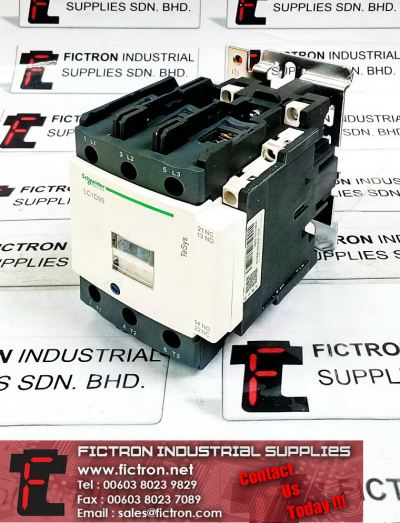 LC1D95N7C 415V 60Hz 45kW-380V SCHNEIDER ELECTRIC TeSys Contactor Supply Malaysia Singapore Thailand Indonesia Philippines Vietnam Europe & USA
