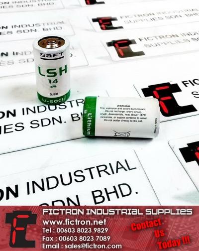 LSH 14 SAFT Li-SOCI2 3.6V Lithium Battery Supply Malaysia Singapore Thailand Indonesia Philippines Vietnam Europe & USA