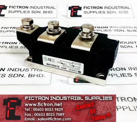 NKT500/16 NELL Semiconductor Thyristor/Diode SUPER MAGN-A-PAK Power Module Supply Malaysia Singapore Thailand Indonesia Philippines Vietnam Europe & USA