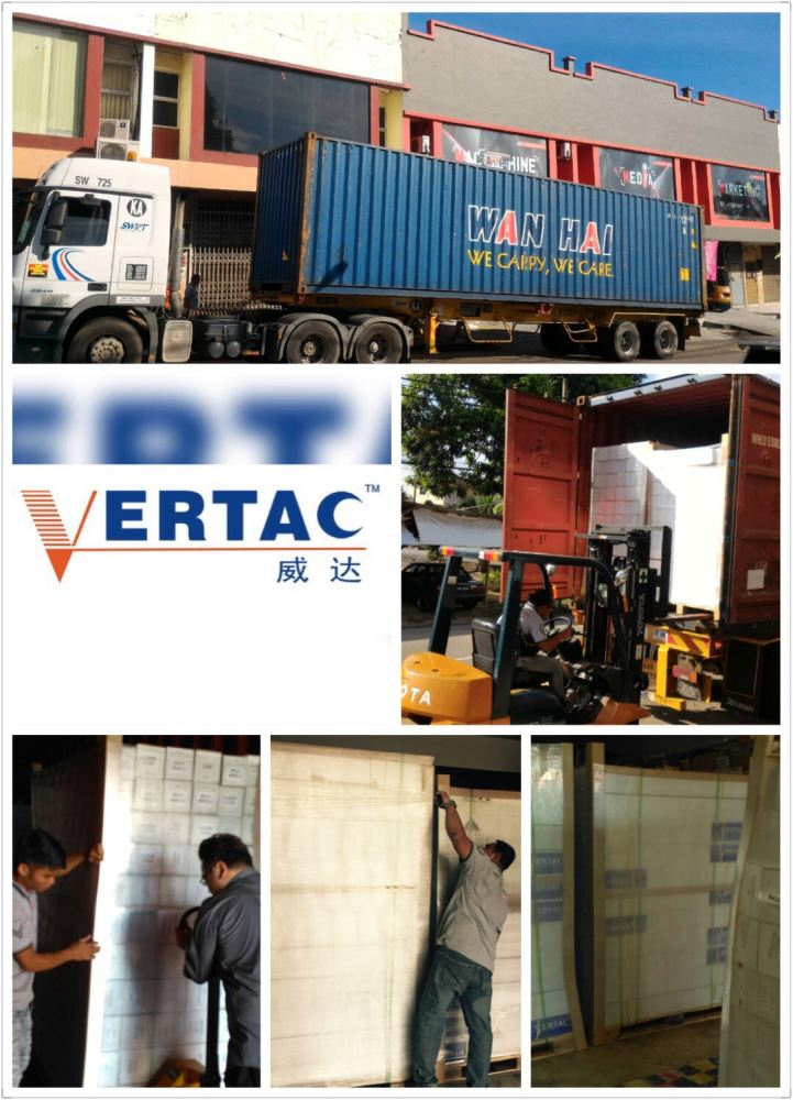 1st VERTAC Shipment Arrived After CNY