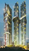 Architectural impression. Johor Bahru - Tri Tower Completed Projects in Johor