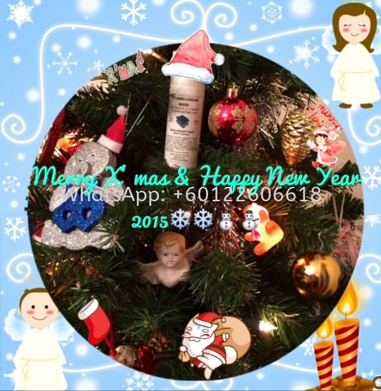 Merry Christmas & Happy New Year 2015 from Dermaviduals Malaysia