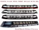 TOYOTA HILUX REVO FRONT GRILLE WITH DRL BLACK (S/N:001772) Accessories Accessories