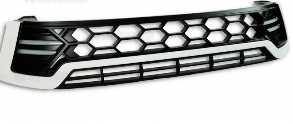 TOYOTA HILUX REVO 2016 FRONT GRILLE WITH DRL WHITE (S/N:001771)