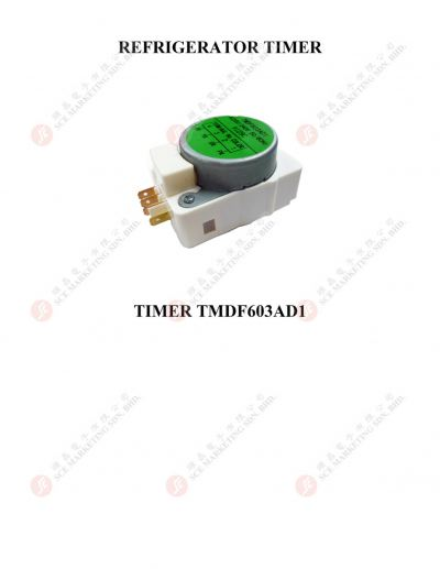 DEFROST TIMER TMDF603AD1