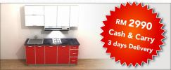 "Promotion ""RM2990 Cash & Carry 3 days Delivery"""