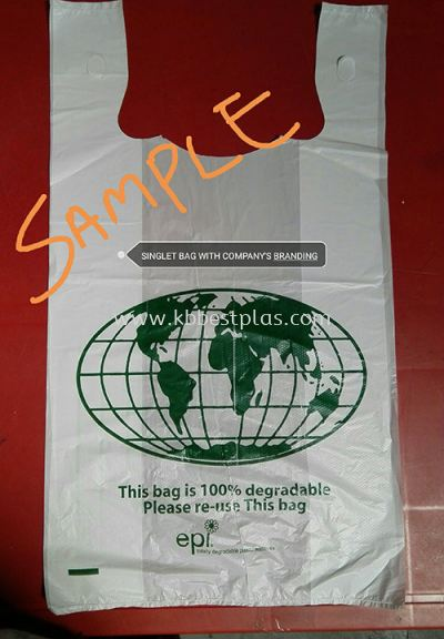 Singlet Bag with Company's Branding