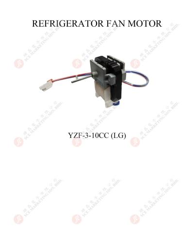 REFRIGERATOR FAN MOTOR YZF-3-10CC