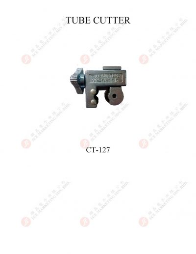 TUBE CUTTER CT127