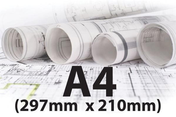 A4 (Size: 297mm x 210mm)