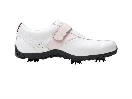 FJ LoPro Sports #97164 White / Pink saddle