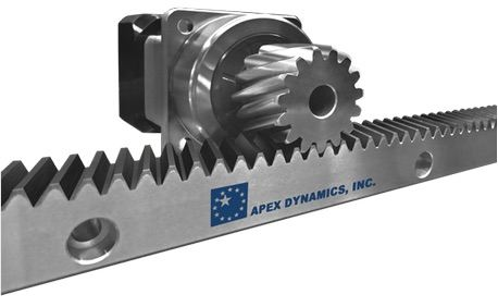 APEX DYNAMICS NEW PRODUCT - RACK & PINION