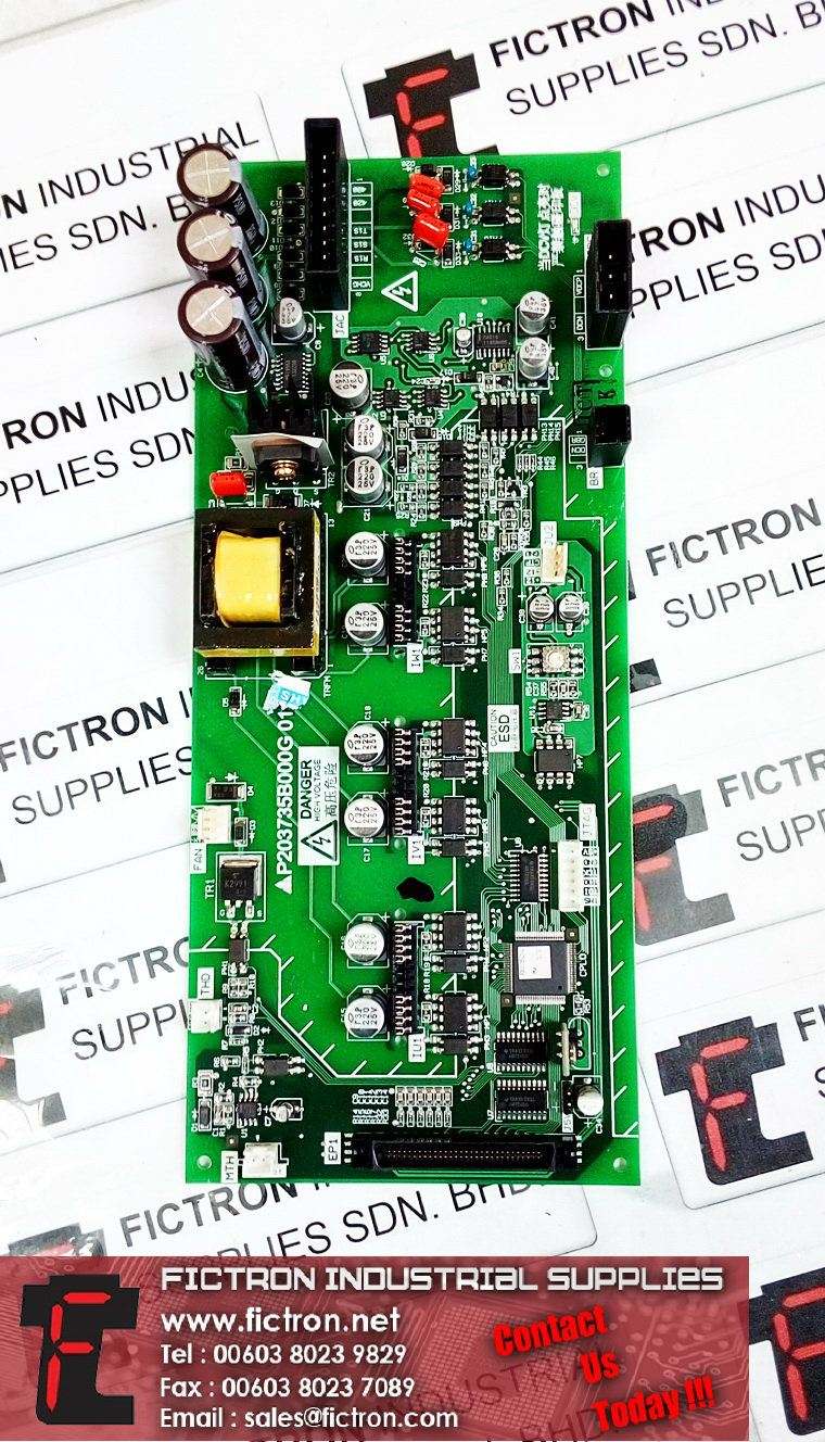 P203735B000G 01 MITSUBISHI ELEVATOR PCB Supply & Repair Malaysia Singapore Thailand Indonesia Philippines Vietnam Europe & USA MITSUBISHI Elevator Parts