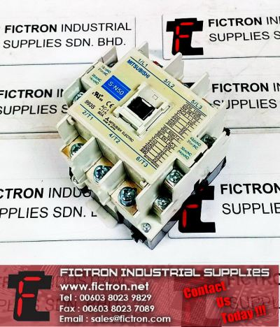 S-N50 240VAC 60Hz Coil MITSUBISHI Magnetic Contactor 80A Continuous IEC60947-1-1 DIN VDE Supply Malaysia Singapore Thailand Indonesia Philippines Vietnam Europe & USA
