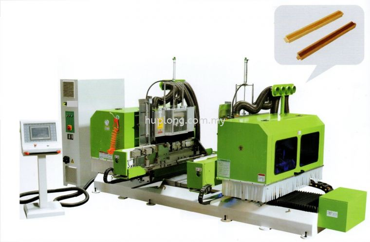 CNC DOUBLE-END AUTOMATIC FOUR SPINDLE TENON MACHINE / MDK2214 Cnc Tenoner Machine