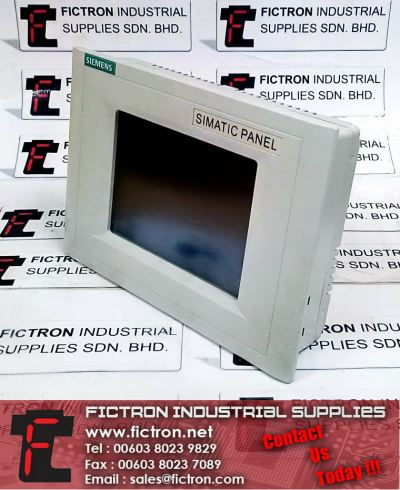 6AV6 545-0BC15-2AX0 SIEMENS Touch Panel TP170B Color HMI Human Machine Interface Supply & Repair Malaysia Singapore Thailand Indonesia Philippines Vietnam Europe & USA