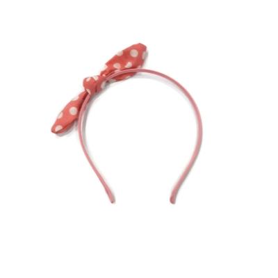Polka Dot Bunny Headband