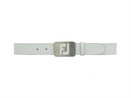 FJ Leather Belts - New Snake Print #69368 White