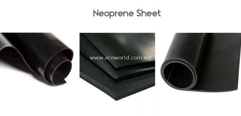 Neoprene Rubber Sheet-Rough Surface