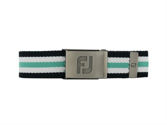 FJ Canvas Belt - New #69360 Navy / White / Spearmint