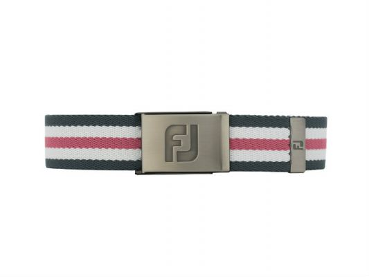 FJ Canvas Belt - New #69361 Charcoal / White / Pink