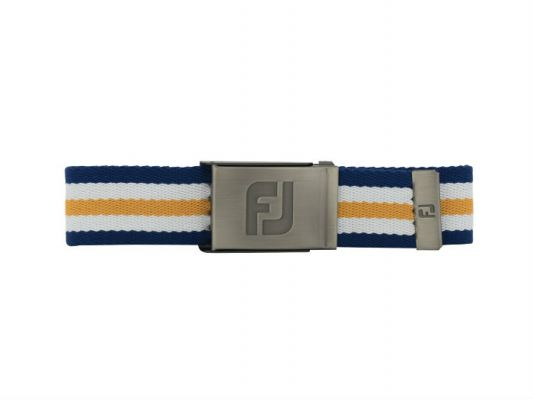 FJ Canvas Belt - New #69363 Midnight / White / Melon