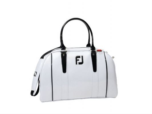 FJ Deluxe Boston Bag #31636 White - #316364A030