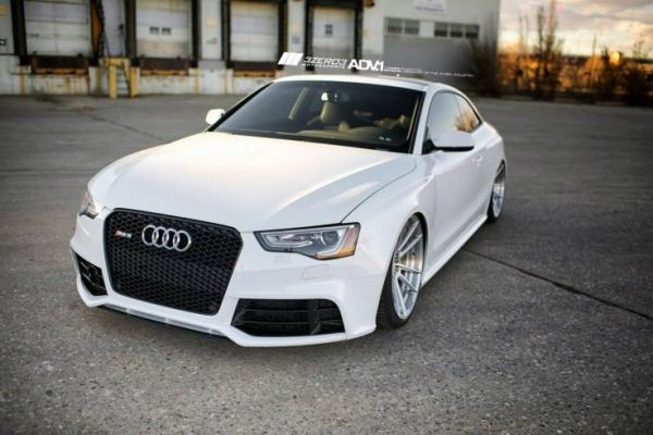 Audi A5 facelift RS front bumper conversion