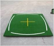 Driving Range Mat with Line Marker